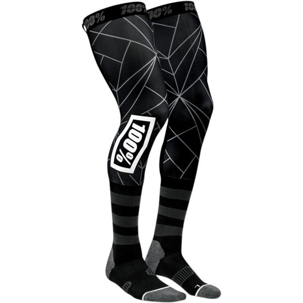 100 la suta Sosete Knee Brace Rev Black 2019