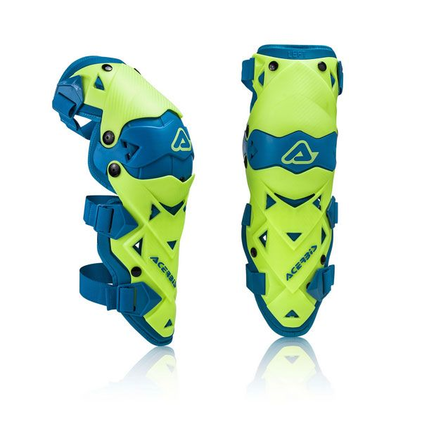Acerbis Genunchiere Impact Evo 3 Yellow/Blue