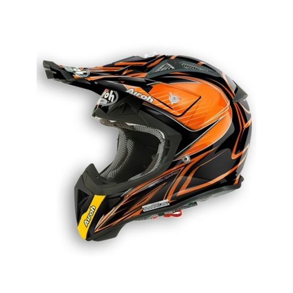 Casti MX-Enduro Airoh Aviator 2.1 Linear Orange