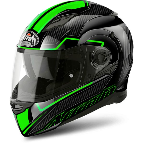 Airoh Casca Movement S Faster Gloss Black/Green