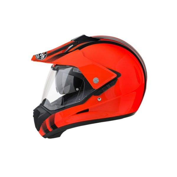 Casti MX-Enduro Airoh Casca S5 Orange