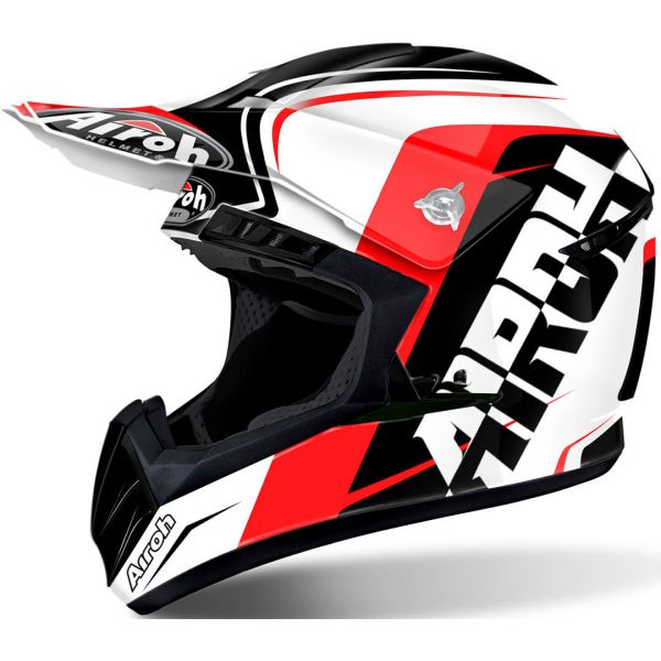 Casti MX-Enduro Airoh Casca Switch Sign Red Gloss