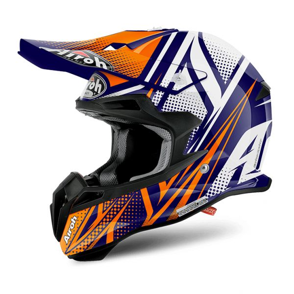 Casti MX-Enduro Airoh LICHIDARE STOC Casca Terminator 2.1 S Cleft Orange Gloss 2.1