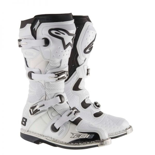 Alpinestars Cizme Ventilate Tech 8 RS White 2019