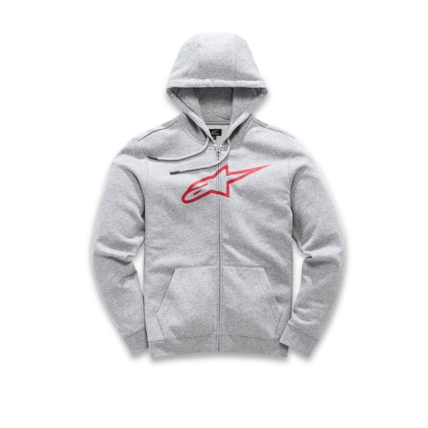 Alpinestars Hanorac Ageless Zip Up Gray/Red S9