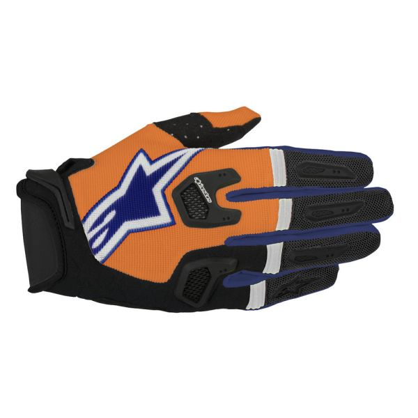 Alpinestars LICHIDARE STOC Manusi S7 Racefend Orange/Blue/White