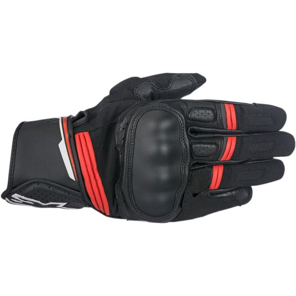 Alpinestars Manusi Piele Booster Black/Red 2020
