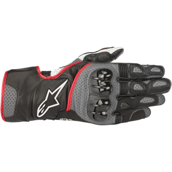 Alpinestars Manusi Piele SP-2 V2  Black/Gray/Red 2020