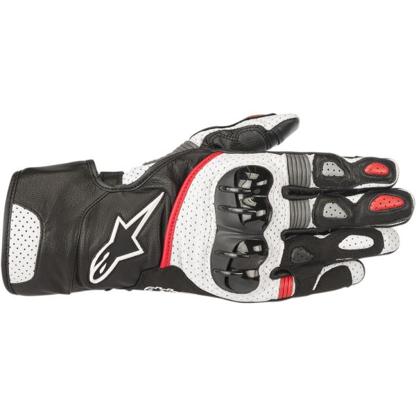 Alpinestars Manusi Piele SP-2 V2  Black/White/Red 2020