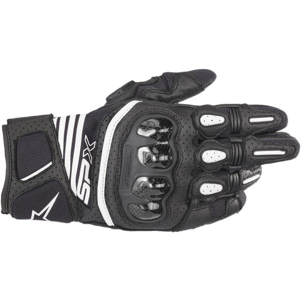 Alpinestars Manusi Piele SP X Air Carbon V2 Black 2020