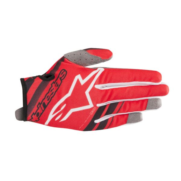 Alpinestars Manusi Radar Black/Red S9 Copii