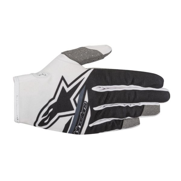 Alpinestars Manusi Radar Flight S8 White/Black Copii