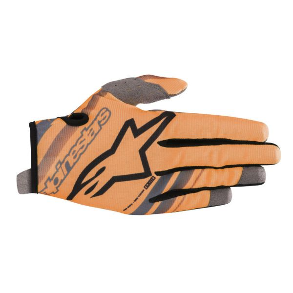 Alpinestars Manusi Radar Orange/Black S9 Copii