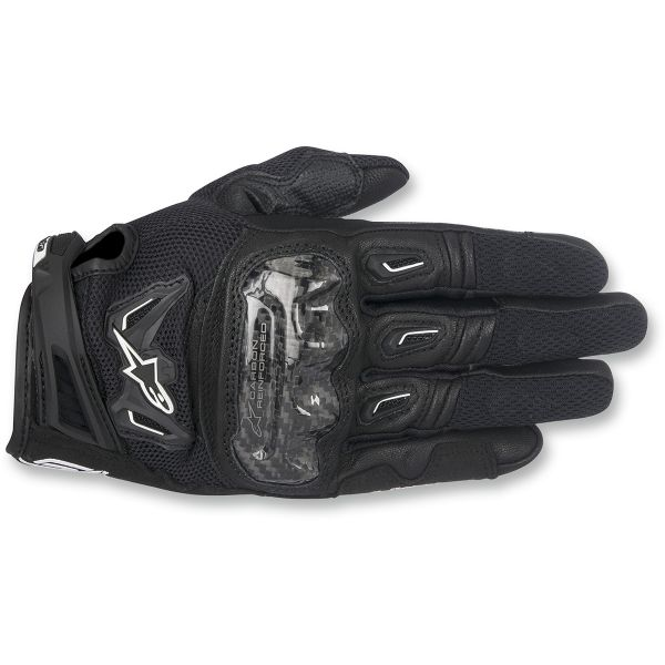 Alpinestars Manusi Textile SMX-2 Air Carbon V2 Black 2020