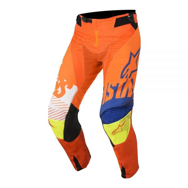 Alpinestars Pantaloni Techstar Screamer Orange/Blue S8