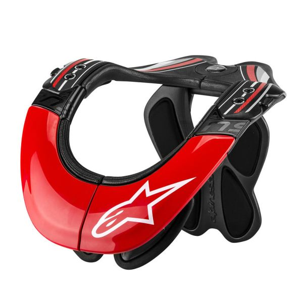 Alpinestars Protectie Gat BNS Tech Carbon Red