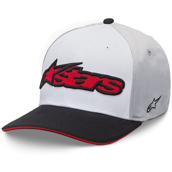 Alpinestars Sapca Flexfit Heat White