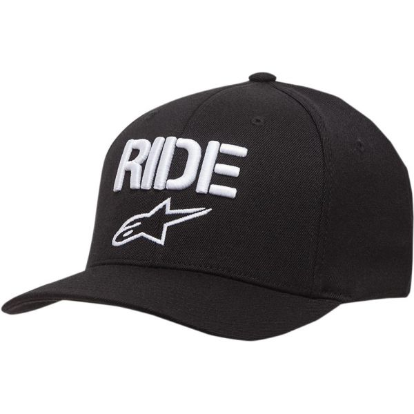 Alpinestars Sapca Ride Curved Bill Black/White