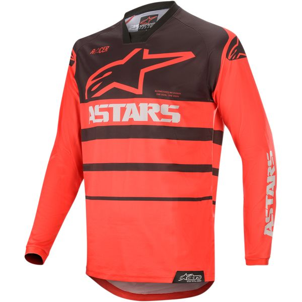 Alpinestars Tricou Racer Supermatic S20 Black/Red