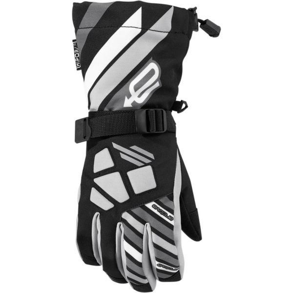 Arctiva Manusi Long Cuff Ravine Black S7 Copii