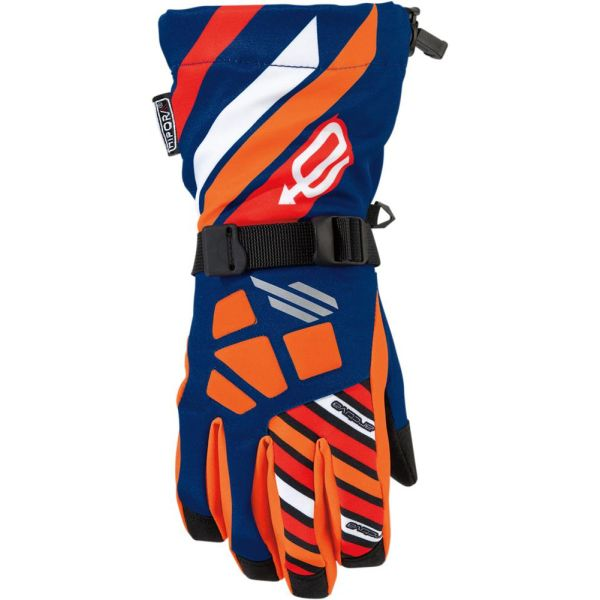 Arctiva Manusi Long Cuff Ravine Orange S7 Copii