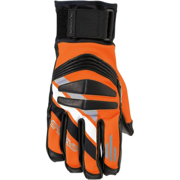 Arctiva Manusi Short Cuff Ravine Black/Orange 17