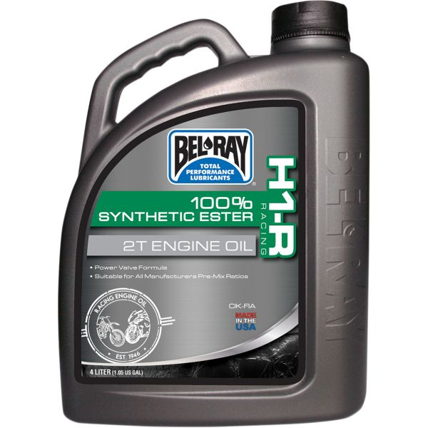 Bel Ray Ulei de motor H1-R RACING 100% SYNTHETIC ESTER 2T  4 l