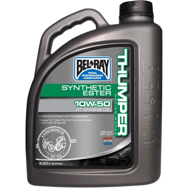 Bel Ray Ulei de motor THUMPER RACING WORKS SYNTHETIC ESTER 4T 10W-50  4 l