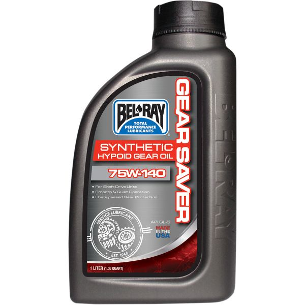 Bel Ray Ulei de transmisie GEAR SAVER SYNTHETIC HYPOID GEAR OIL 75W-140  1 l