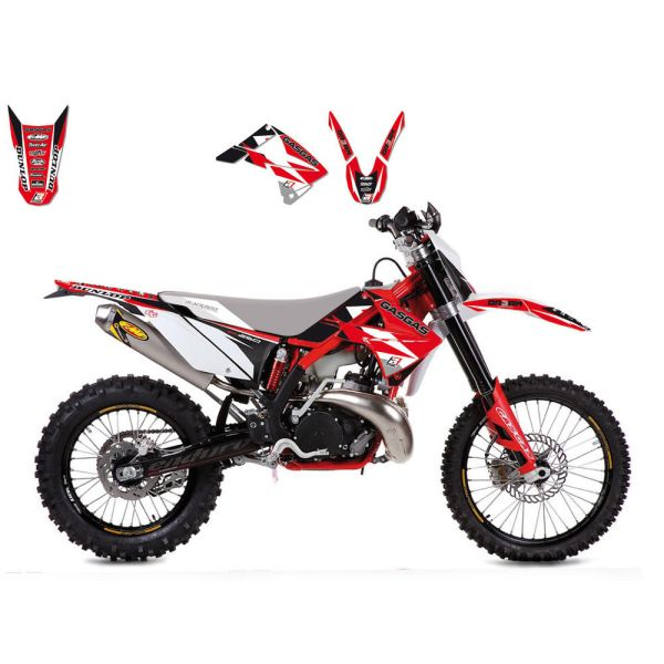 Grafice Moto Blackbird Kit Grafice Dream 3 Gas Gas 2904E