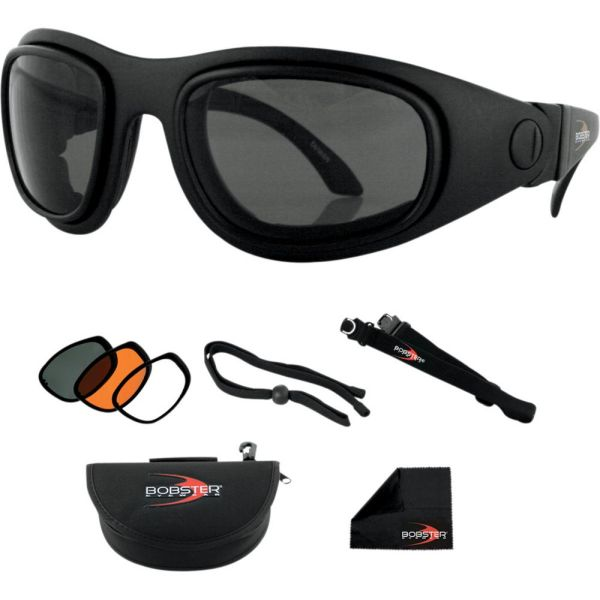 Bobster Ochealari Sport&Street 2 Convertible Black Lenses Interchangeable
