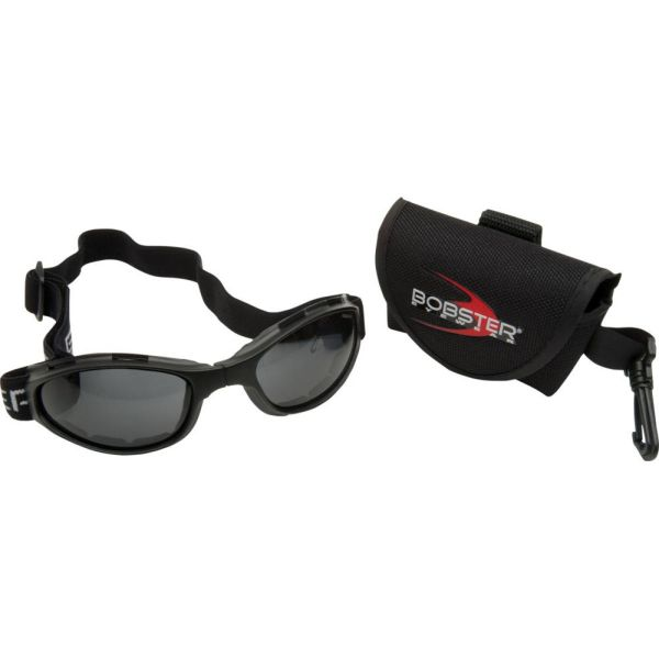 Bobster Ochelari Crossfire Foldable Adventure Black Lenses Smoke