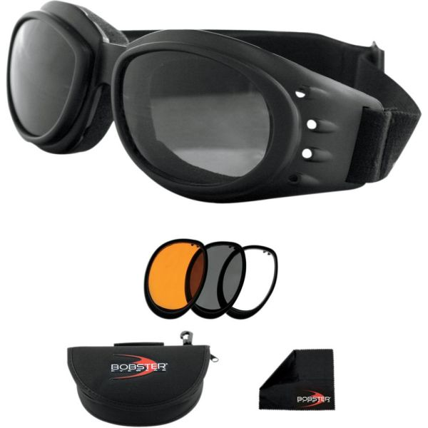 Bobster Ochelari Cruiser 2 Adventure Black Lenses Interchangeable