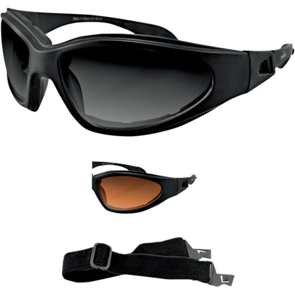 Bobster Ochelari GXR Adventure Black Lenses Smoke