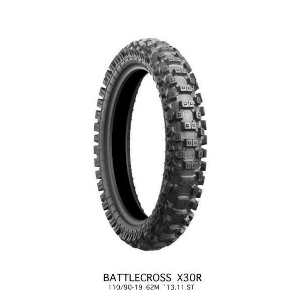 Bridgestone ANVELOPA BATTLECROSS X30 MEDIUM REAR 110/90 - 19 62M TT NHS