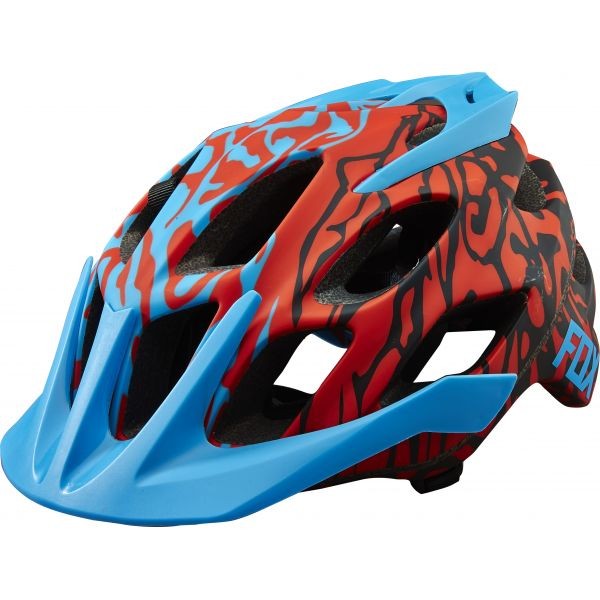 Casti Bike Fox Casca Bicicleta Flux Flight Cauz Blue