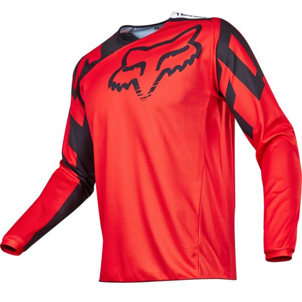 Tricouri MX-Enduro Fox LICHIDARE STOC Tricou 180 Race MX17 Red/Black