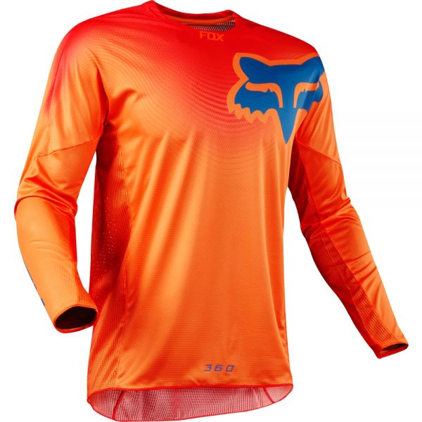 Fox LICHIDARE STOC Tricou 360 Viza Orange 2018