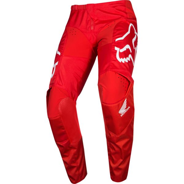 Fox Pantaloni 180 Honda Red/White 2019