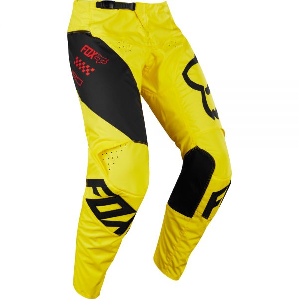 Fox LICHIDARE STOC Pantaloni 180 Mastar Yellow/Black 2018