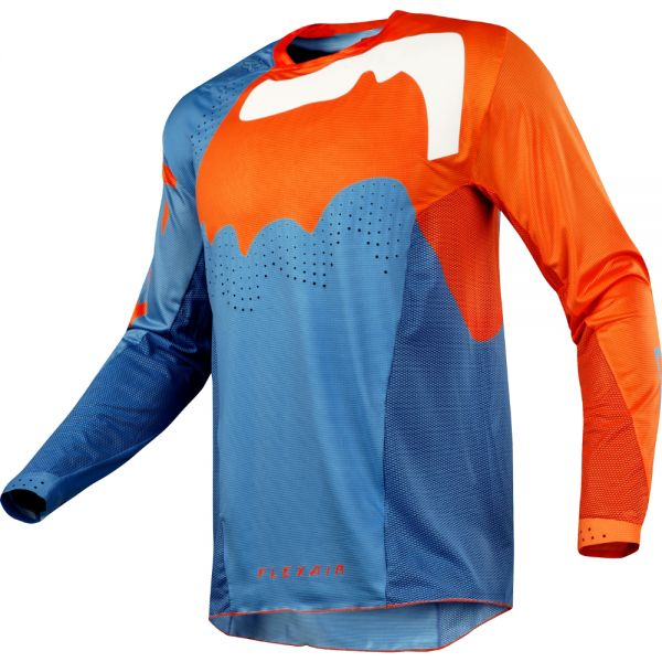 Fox LICHIDARE STOC Tricou Flexair Hifeye Blue/Orange 2018