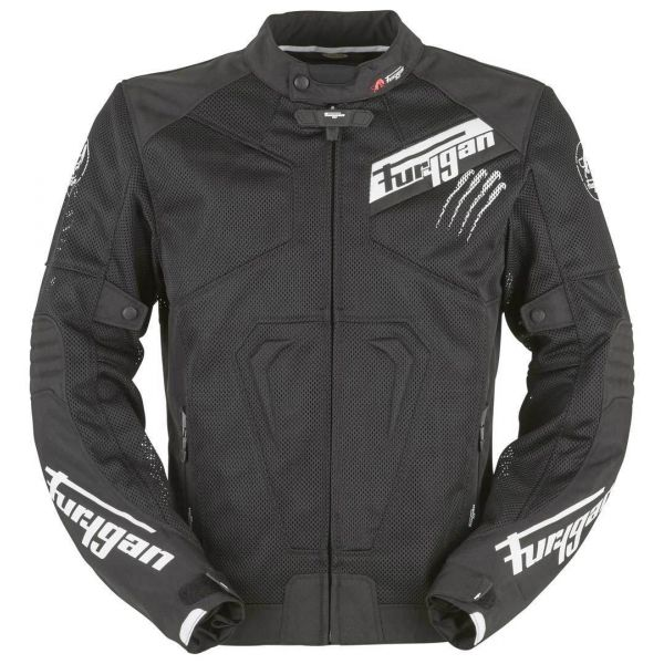 Furygan Geaca Vara Hurricane Vented Black/White