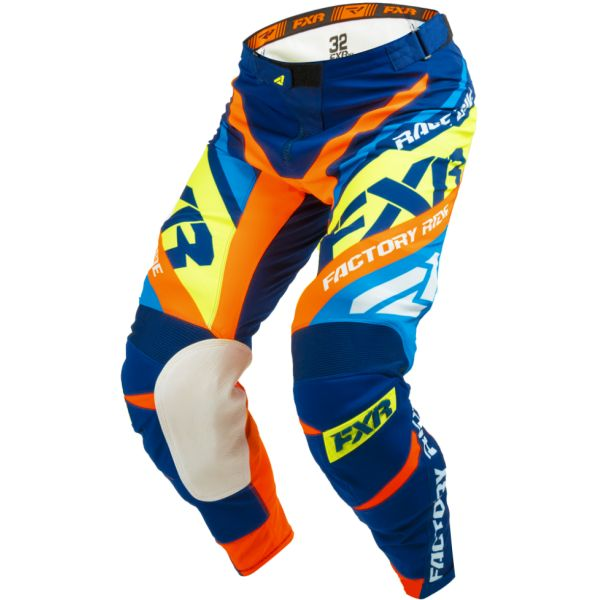FXR LICHIDARE STOC Pantaloni Revo Blue/Orange/Yellow