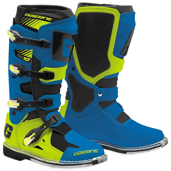 Cizme MX-Enduro Gaerne Cizme SG10 Blue/Yellow