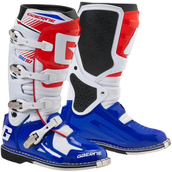Cizme MX-Enduro Gaerne Cizme SG10 MX 2016 Blue/White