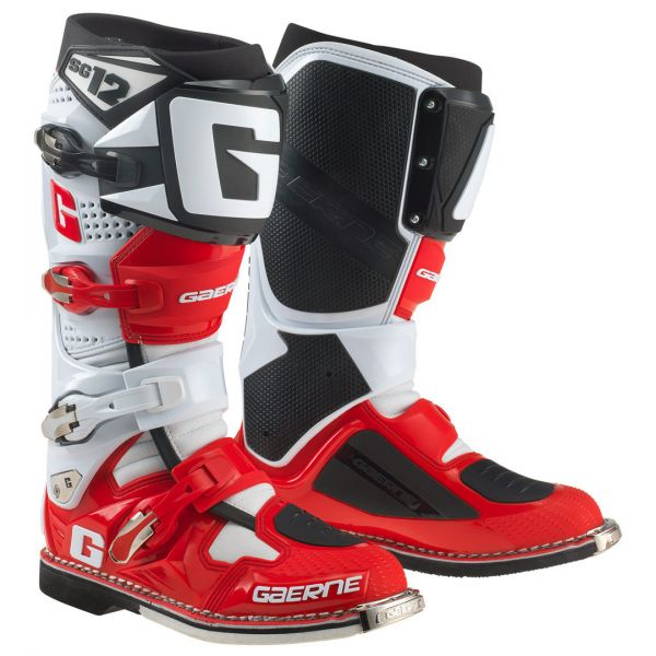 Gaerne Cizme SG12 Limited Edition Red/White/Black