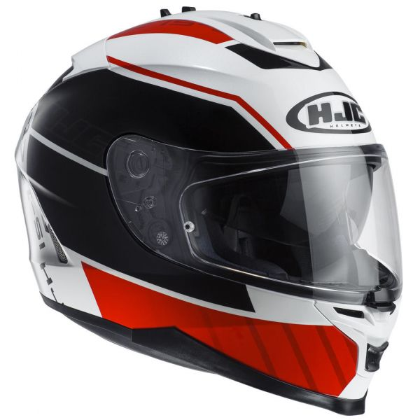 HJC Casca IS17 Tridents MC-1 White/Red/Black
