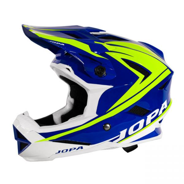 Jopa Casca BMX Flash Blue/Yellow Copii