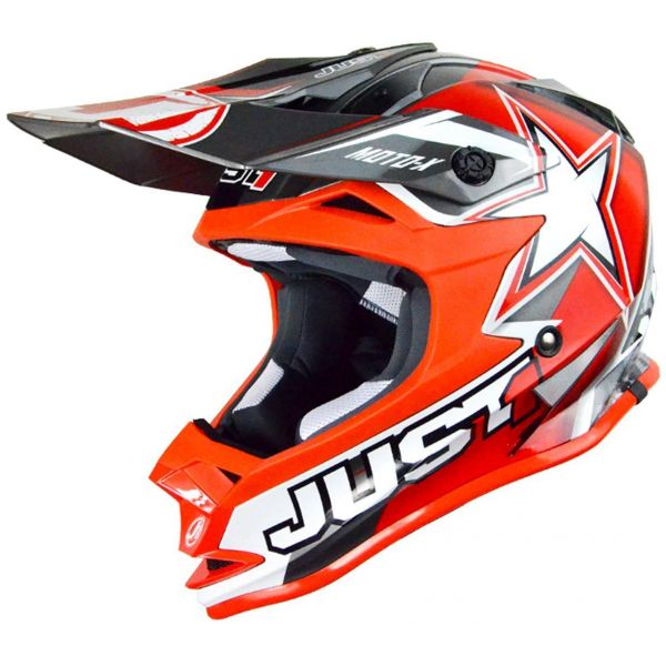 Just1 Casca J32 Pro Moto X Red Copii