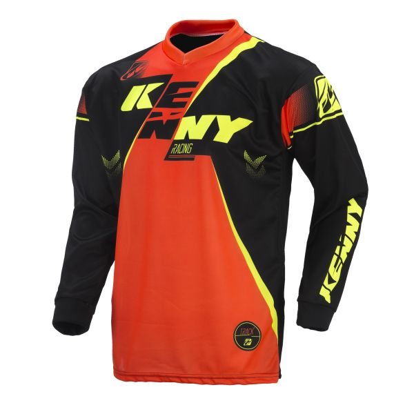 Kenny Tricou Track Orange/Black/Yellow S7 Copii
